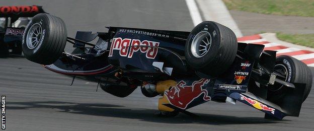 Christian Klien, Hungarian Grand Prix 2005
