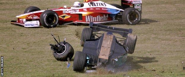 Pedro Diniz, 1999 European Grand Prix