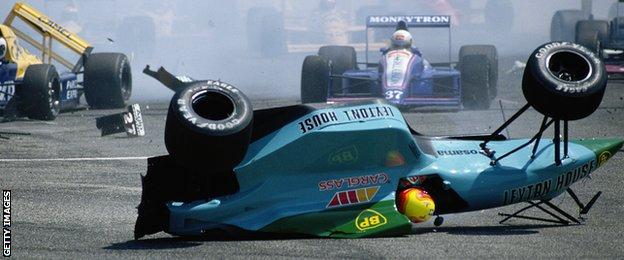 Mauricio Gugelmin, French Grand Prix, 1989