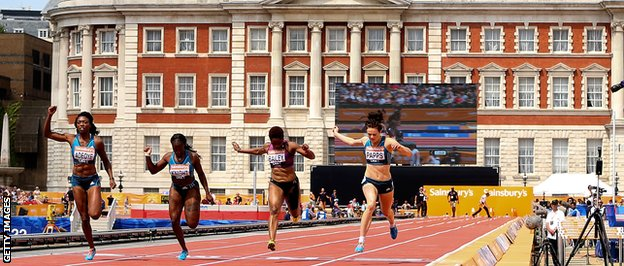 women's 100m
