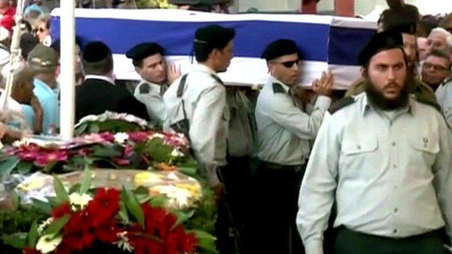 Israeli soldiers' funerals
