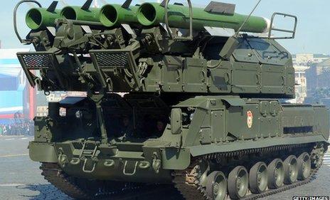 Buk-M1 missile system