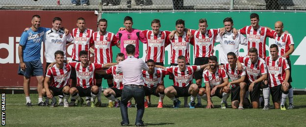 Exeter City in Rio