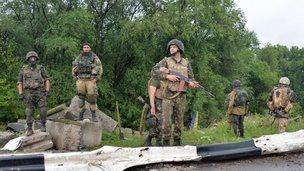 Ukrainian soldiers