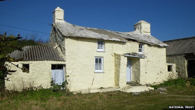 cottage to be restored by National Trust
