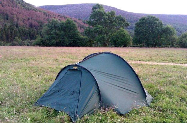 Tent in Ennerdale