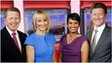 Bill Turnbull, Louise Minchin, Naga Munchetty and Charlie Stayt