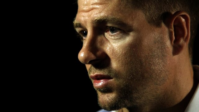 England captain Steven Gerrard explains his retirement from international football