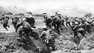 Soldiers at Gallipoli