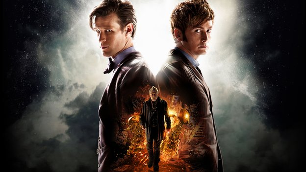 Day of the Doctor 50th Anniversary poster