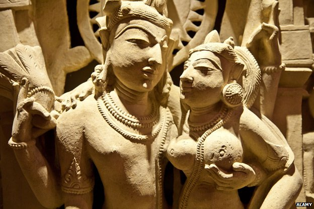 Kama Sutra carving from North East India