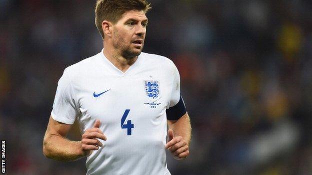 76420259 76419277 - Gerrard retires from England duty
