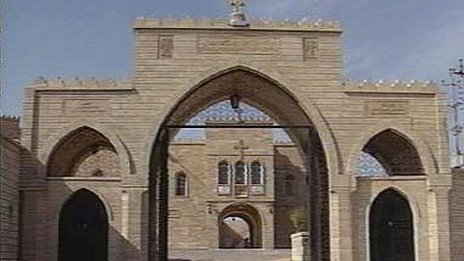 Mar Behnam monastery near Mosul, Iraq