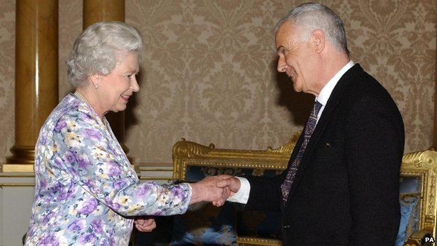 The Queen and Sir Peter Maxwell Davies
