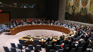 The UN Security Council votes on the resolution regarding the plane crash in Ukraine. 21 July 2014