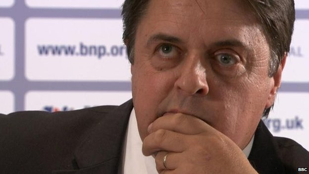 Nick Griffin in 2011