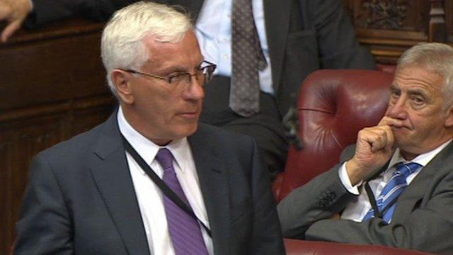 Liberal Democrat peer Lord Sharkey