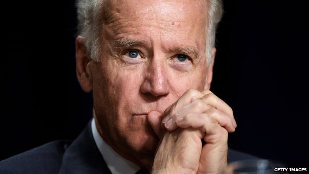 Vice-President Joe Biden.