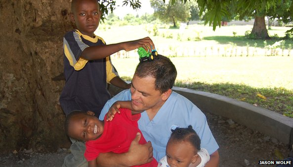 Jason wolfe in haiti