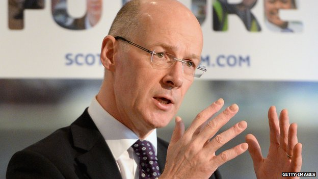 Scottish Finance Secretary John Swinney