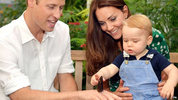 Prince George pictures mark royal baby's first birthday