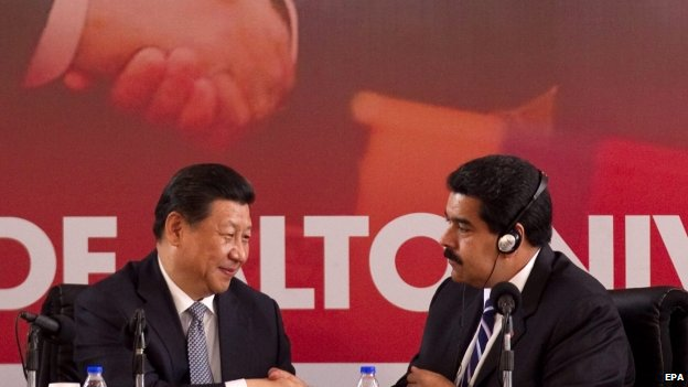 Chinese President Xi Jinping visits Venezuela
