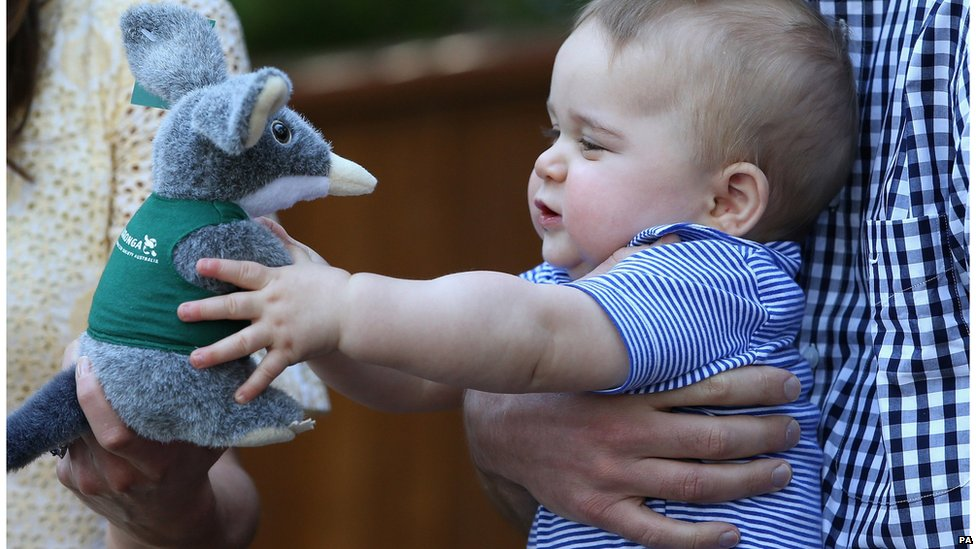 Prince George at Taronga Zoo in Sydney