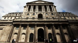 The Bank of England,
