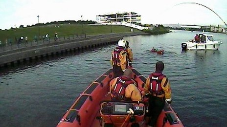 RNLI on the River Tees