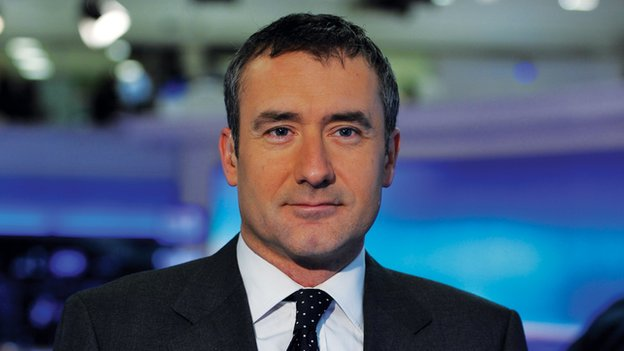 Sky reporter Colin Brazier