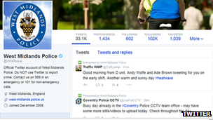 Tweets from West Midlands Police