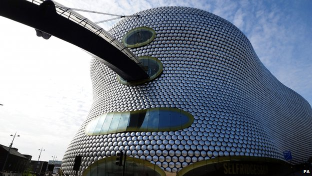 Birmingham's 'bubble wrap' Selfridges