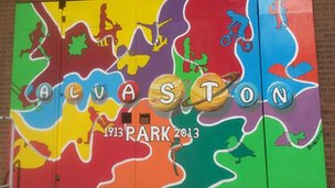 Alvaston Park mural