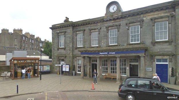 Haymarket Station
