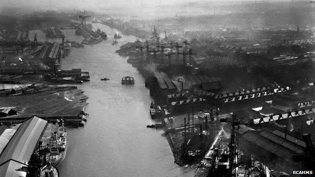 River Clyde in 1950