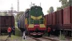 train carrying bodies arrives in Kharkhiv
