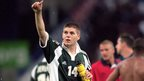 Steven Gerrard in action in Euro 2000 hosted by Belgium and Netherlands