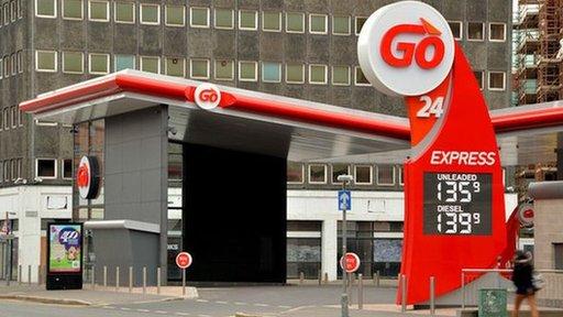 Go filling station, Belfast