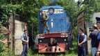 Train with MH17 bodies arrives in Kharkhiv (22 July)
