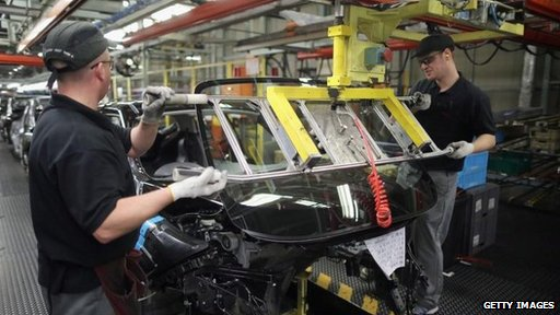 Car production in the UK