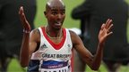 Athlete Mo Farah