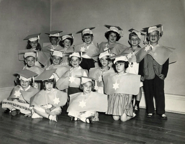 St Paul Talmud Torah Nursery School graduation, Minnesota 1963