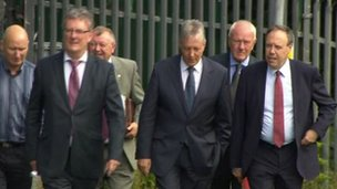 Unionist leaders