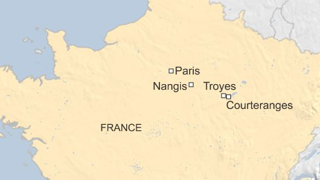 map Troyes
