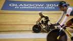 Cyclists train for Glasgow 2014