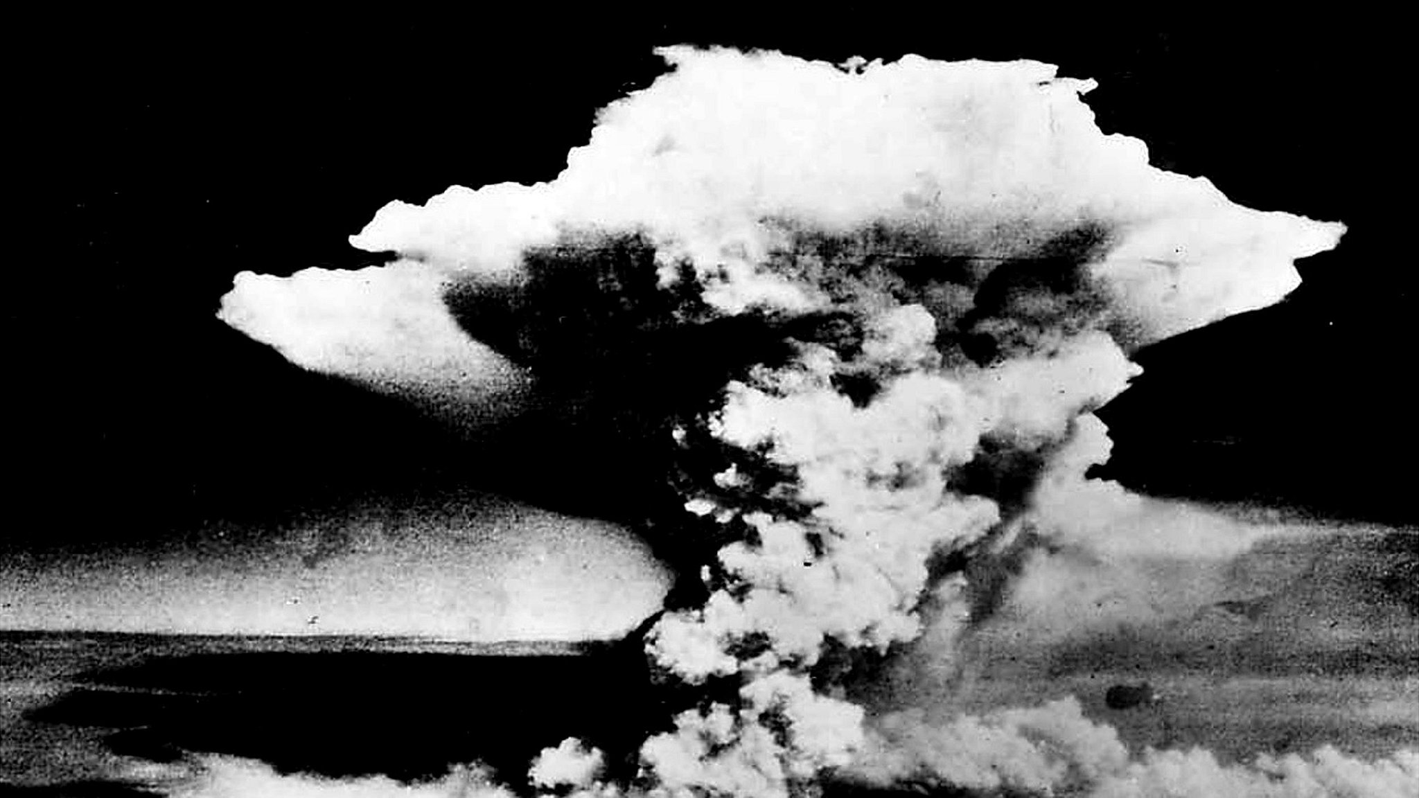 Hiroshima - mushroom cloud