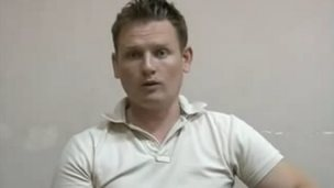 Alexander Sodiqov's interview with his interrogators appeared to be heavily edited