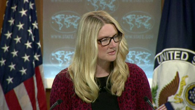 Marie Harf, US State Department