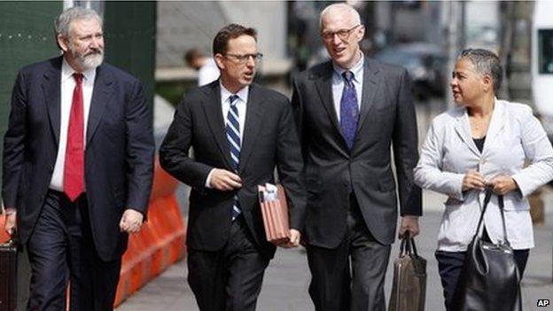 Argentina's legal team