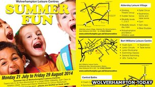 Summer fun at Wolverhampton leisure centres
